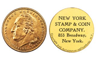 THE NEW YORK STAMP & COIN COMPANY