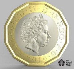 ROYAL MINT TO INTRODUCE NEW ONE POUND COIN