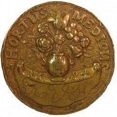 THE 1684 HORTUS MEDICUS TOKEN