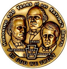 MEDAL HONORS NATIONAL MOTTO ANNIVERSARY