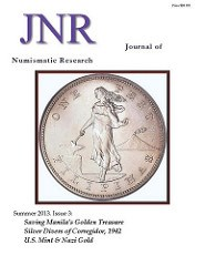 REVIEW:JOURNAL OF NUMISMATIC RESEARCH 3-5