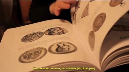 AUREO & CALICÓ NUMISMATIC LIBRARY IN PROMOTIONAL VIDEO
