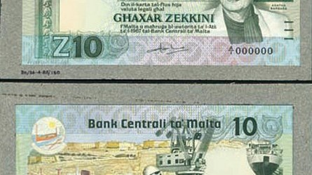 THE 1984 MALTESE ZEKKINI BANKNOTE MYSTERY