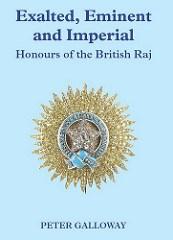 NEW BOOK: HONOURS OF THE BRITISH RAJ