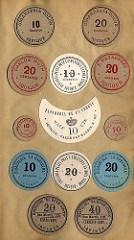 BINI BOOK OF 1891 CHILEAN REVOLUTION NOTES