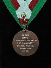 DICKIN MEDAL AWARD CEREMONY FOR SASHA