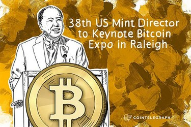 FORMER MINT DIRECTOR MOY AT BITCOIN EXPO