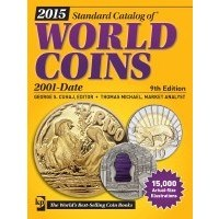 NEW BOOK: 2015 CATALOG OF WORLD COINS 2001 - DATE