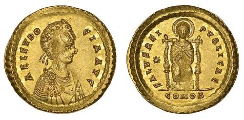 DOUBLE SOLIDUS OF AELIA EUDOCIA