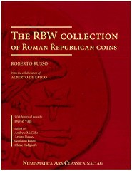 NEW BOOK: RBW COLLECTION OF ROMAN REPUBLICAN COINS