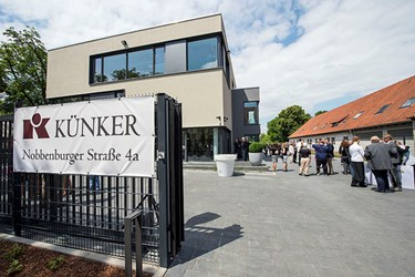 KÜNKER MOVED TO NEW QUARTERS