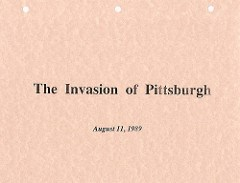 THE 1989 BIBLIOPHILE INVASION OF PITTSBURGH