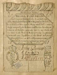 EARLY PAPER CURRENCY IN COLONIAL MASSACHUSETTS