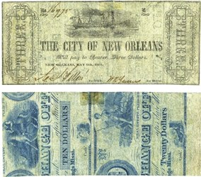 NEW ORLEANS BANKNOTES RECYCLED IN RESPONSE TO THEFT