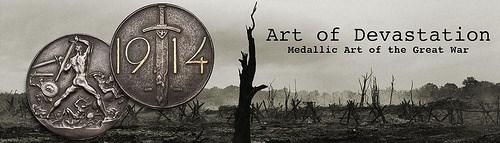 ANS CATALOGS FIRST WORLD WAR MEDALLIC ART