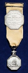 CHRISTIE'S TO SELL JOHN IRVING ARCTIC MEDAL