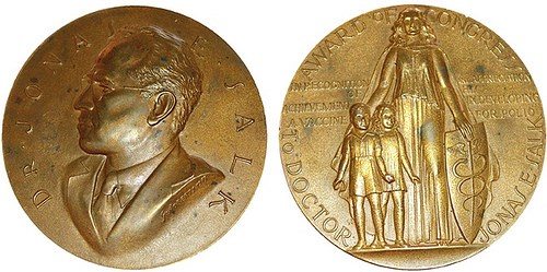 THE JONAS SALK CONGRESSIONAL GOLD MEDAL