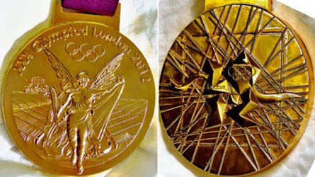 2012 OLYMPIC GOLD MEDAL COMES TOMARKET