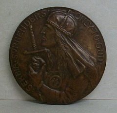 SCULPTOR ANNA COLEMAN LADD