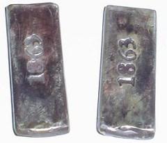 MORE ON 1863 CSA INGOTS