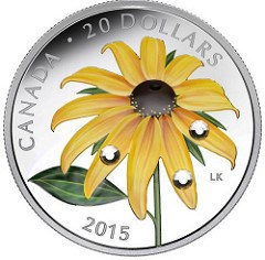 LAURIE KOSS DESIGNS CANADA'S 2015 $20 COIN