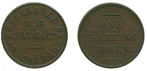 SOME INTERESTING TOKENS FROM BALDWIN'S: MAY 15, 2015