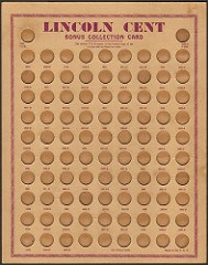 EARL & KOEHLER LINCOLN CENT COIN BOARD SURFACES
