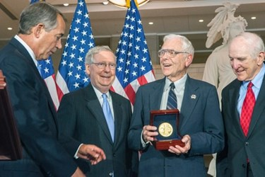 CONGRESSIONAL GOLD MEDAL AWARDED TO FIGHTER ACES