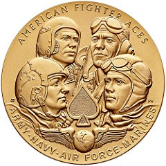 DESIGNING THE AMERICAN FIGHTER ACES MEDAL