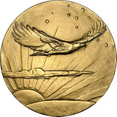 CHARLES LINDBERGH'S CONGRESSIONAL GOLD MEDAL