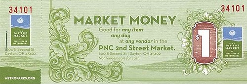 FARMER'S MARKET MONEY SUBSTITUTES