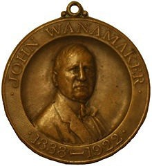 THE JOHN WANAMAKER MEMORIAL MEDAL