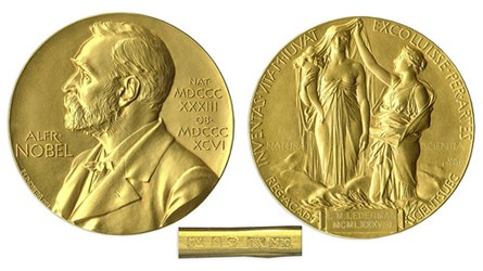 LEON LEDERMAN 1988 NOBEL PRIZE MEDAL SOLD