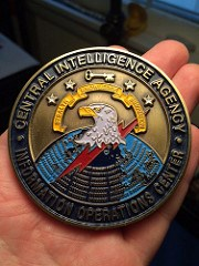 CIA INFORMATION OPERATIONS CENTER MEDAL