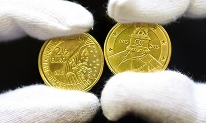 BELGIUM DEFIES FRANCE WITH WATERLOO COIN ISSUE