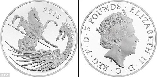 ROYAL MINT OFFERS PRINCE GEORGE'S SECOND BIRTHDAY COIN