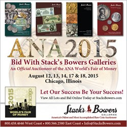 SELECTIONS FROM THE STACK'S BOWERS ANA RARITIES SALE
