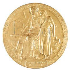 GEORGE MINOT 1934 NOBEL PRIZE MEDAL OFFERED