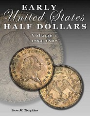 NEW BOOK: EARLY UNITED STATES HALF DOLLARS