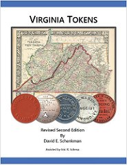 NEW BOOK: VIRGINIA TOKENS, 2ND EDITION