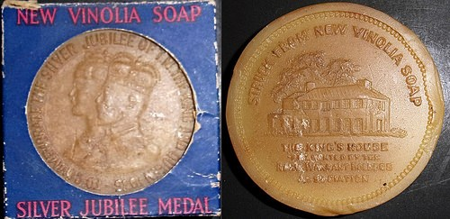 MORE ON MEDALS MADE OF SOAP