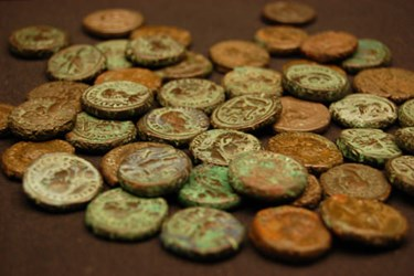 THE MYSTERY OF THE FETTER LANE HOARD