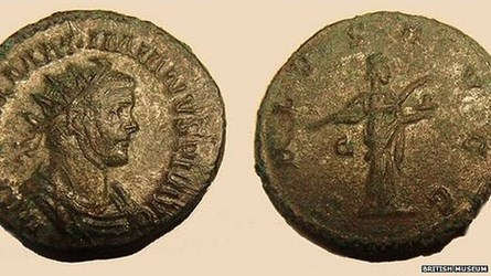 LEOMINSTER ROMAN COIN HOARD FOUND