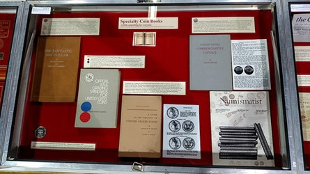 2015 ANA SHOW NUMISMATIC LITERATURE EXHIBITS