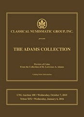 CNG OFFERS PART 1 OF THE DR. LAWRENCE ADAMS GOLD COLLECTION