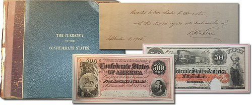 THIAN MASTER CONFEDERATE CURRENCY ALBUM OFFERED