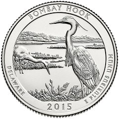 BOMBAY HOOK WILDLIFE REFUGE QUARTER LAUNCH