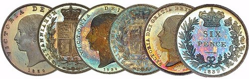 AN 1839 VICTORIA PROOF SET