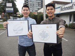 ARTICLE PROFILES BROTHERS IN CANADIAN MINT'S DESIGN CONTEST