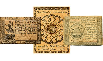 BRITISH COUNTERFEITING IN COLONIAL AMERICA